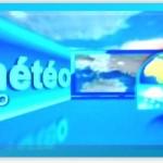Capture d'écran de la météo sur la chaîne LCF