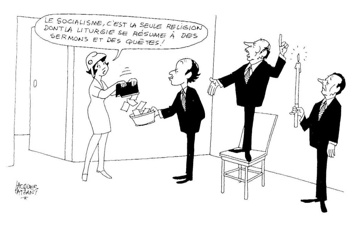 Dessin de Jacques Faizant