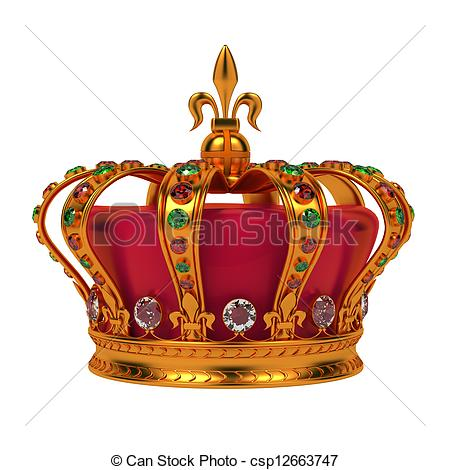 Couronne royale (Crédit photo : canstockphoto.fr)
