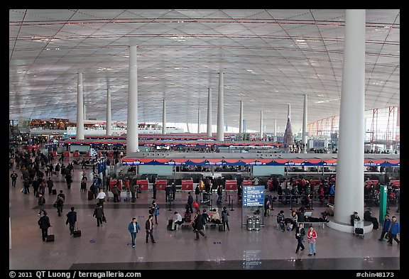 Terminal 3, Aéroport international de Beijing (Chine)