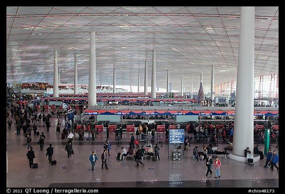Terminal 3, Aéroport international de Beijing (Chine)